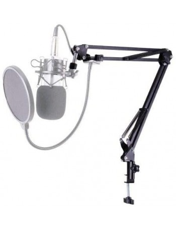 Suporte articulado de mesa para microfone Greika ZB6