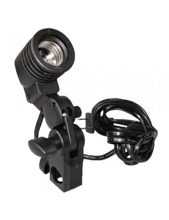 Soquete Greika YL-101 para lâmpada E27 com suporte para sombrinha (bivolt)