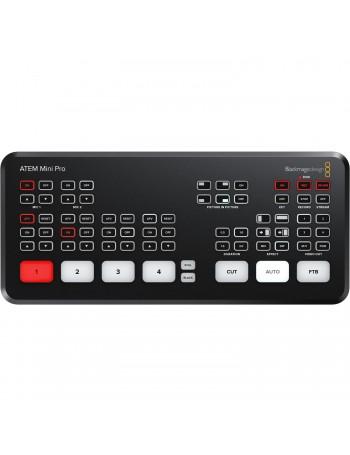 Switcher de transmissão ao vivo Blackmagic Design ATEM Mini Pro HDMI