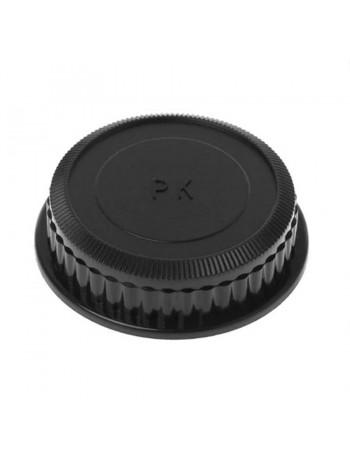Tampa de proteção traseira para lente Pentax K