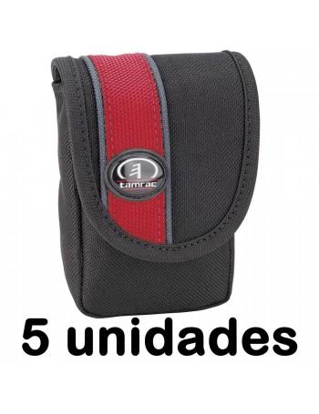 Estojo Tamrac Rally Digital 13 3413 para câmera compacta - Preto com Vermelho (5 unidades)