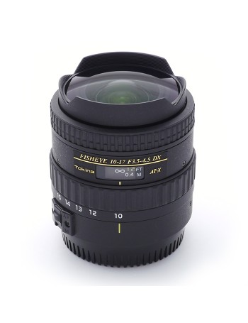 Objetiva Tokina AT-X 10-17mm Fisheye f3.5-4.5 DX para Canon