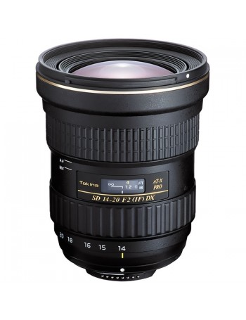 Objetiva Tokina AT-X 14-20mm f2 PRO DX para Nikon
