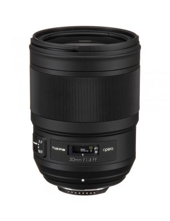 Objetiva Tokina Opera 50mm f1.4 FF para Nikon