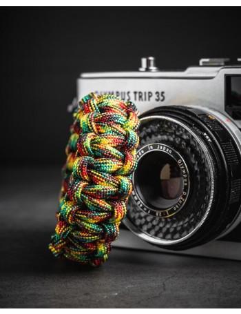 Alça de pulso Mohave Cord Paracord 550 para câmera fotográfica - Reggae