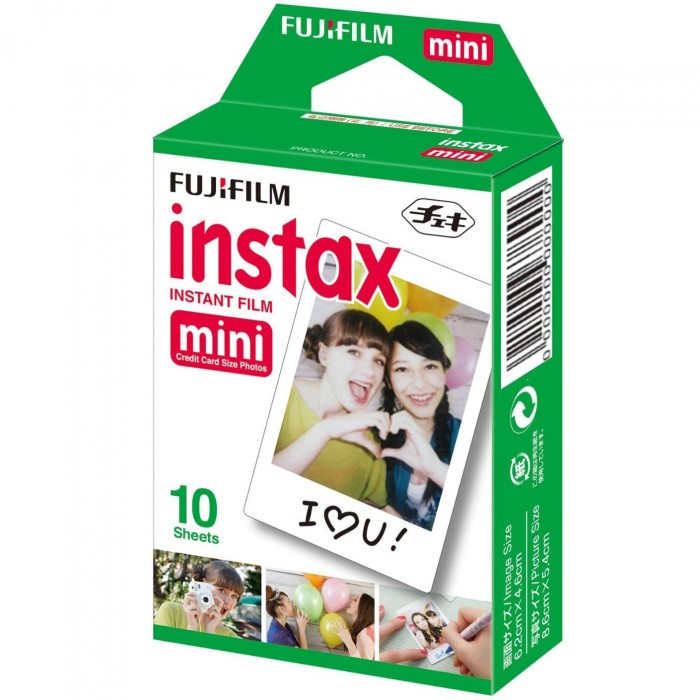Filme Instantâneo Fujifilm Instax Mini (10 fotos)
