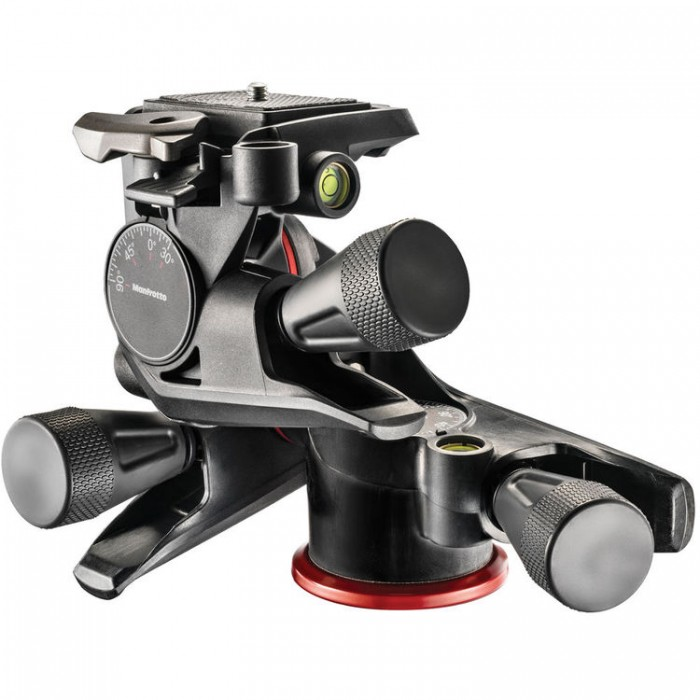 Cabeça Pan-Tilt de três eixos Manfrotto MHXPRO-3WG